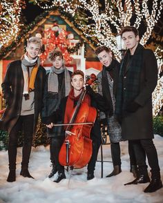 """288.5k Likes, 6,966 Comments - Why Don't We (@whydontwemusic) on Instagram: """"A Why Don't We Christmas... out Wednesday night Pre-order now & get #KissYouThisChristmas…"""""""