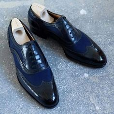 New Handmade Mens Latest Unique Style Brogue Leather Shoes, Men leather shoes - Dress/Formal
