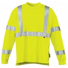 New Wolverine Hi-Vis Apparel is designed from polyester to keep you cool, dry, and comfortable as well as visible on the jobsite.
