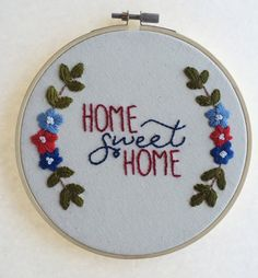 Home Sweet Home by SewCalledLove on Etsy