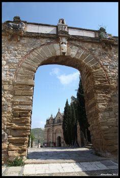 Arco de los Gigantes, Antequera. Málaga.
