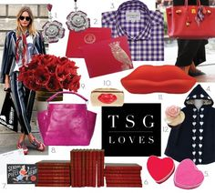 Be Mine: 12 Valentine's Day Gifts featuring Leontine Linens