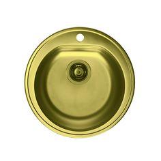 CHIUVETA DE BUCATARIE ALVEUS MONARCH COLLECTION LINE 30 FORM TEH GOLD ,INCASTRABILA ,INOX,SIFON INCLUS - Iak Sink, Copper, Gold, Home Decor, Collection, Sink Tops, Vessel Sink, Decoration Home, Room Decor