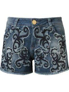 Compre Dolce & Gabbana Calça jeans com aplicações .