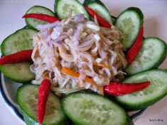 Welcome to Tevy's Kitchen: Mum Silver fish (khmer trey Prite) Asian Recipes, Healthy Recipes, Ethnic Recipes, Cambodian Food, Cambodian Recipes, The Dish, Cabbage, Stuffed Mushrooms, Spices