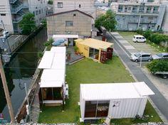佐賀市が社会実験として実施している「わいわい!! コンテナ」(http://www.waiwai-saga.jp/)(写真:ワークヴィジョンズ)