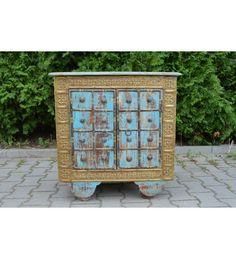 #indyjska #drewniana #komoda @ http://www.indianmeble.pl/komody/indyjska-drewniana-komoda-hs-16-029 #meble