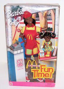 McDonald's African-American Barbie dolls