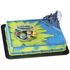 Teenage Mutant Ninja Turtles In Action Cake Decorating Kit(2 pcs.)