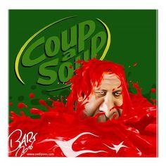 Bart van Leeuwen (2016-07-26)  A Great Big Hug in a Mug... #Erdogan #TurkeyCoupAttemptCoup-a-Soup