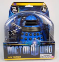 "Doctor Who Dalek Paradigm Series - Dalek: Strategist 6"" (Blue)"