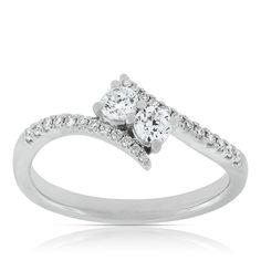 Ever Us™ Two Stone Diamond Ring Featuring Signature Forevermark Diamonds 18K - 11460458.jpg