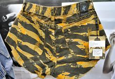 (2) Superfreak Bonitas Denim Cut Offs Jeans Shorts - One Teaspoon Top Picks 2013-2014 Womens Fall Winter from ENK Vegas