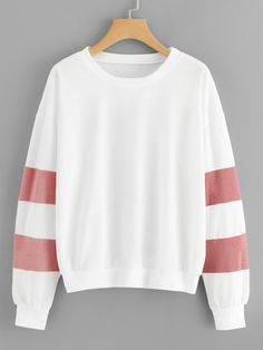 To find out about the Contrast Faux Fur Sweatshirt at SHEIN, part of our latest Sweatshirts ready to shop online today! Hoodie Sweatshirts, Sweatshirts Online, Hoodies, Sweatshirt Outfit, Shein Pull, Fashion News, Fashion Outfits, Fashion 2018, Fashion Styles
