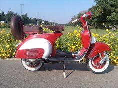 Vintage Vespa Scooter.