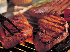 50 of the Best Grilling Recipes! Lots of variety! All kinds of meat and veggies. The best part is. Barbecue Recipes, Grilling Recipes, Beef Recipes, Cooking Recipes, Healthy Recipes, Grilling Ideas, Sauce Recipes, Cooking Corn, Healthy Grilling