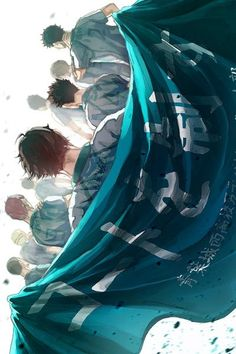 wow this looks epic! Team Aoba Jousai ♥ #Oikawa #Haikyuu