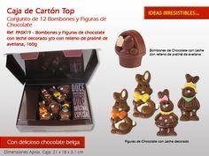 Conejitos de chocolate, bombones,cupcakes ... ¿Usted ha elegido un cariño para esta Pascua? www.mysweets4u.com