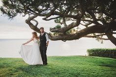 Wes and Amy's Ocean Side, DIY California Wedding by Shelly Anderson
