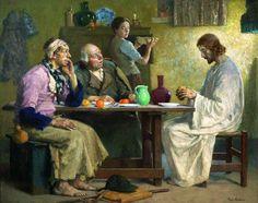 The Supper at Emmaus by Gari Melchers
