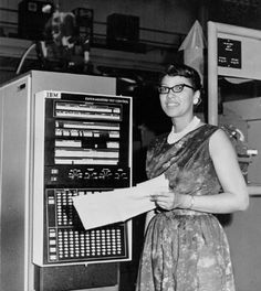 """Melba Roy heads the group of NASA mathematicians, known as """"computers,"""" who…"""