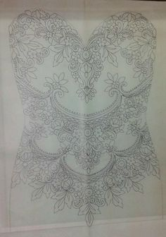 Our custom appliqués starts with a drawing. It is then hand beaded and embroidered by skilled artisans using the finest materials available. Covered with sparkling crystals, sequins and shimmering beads this is truly a one of a kind work of art. Have our designer make it exactly as shown in photos or contact us for a custom quote. Color is OFF-WHITE unless specified different! Size: 24 x 20 inches (60cms x 50 cms)  ~ SMALL & LARGE APPLIQUÉS ~ BODICE APPLIQUÉS ~ WEDDING DRESS PANELS ~ SASH...