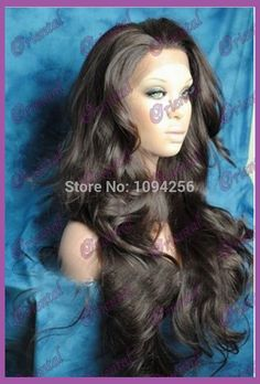 Free shipping new arrival heat resistant fiber wavy wig synthetic lace front wig long for black women-in Synthetic Wigs from Health & Beauty on Aliexpress.com | Alibaba Group