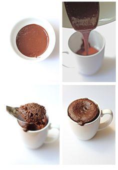Savor Home: 60 Second Chocolate Cake