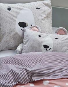 beren kussen #kids #cushion | Essenza home