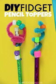 fidget toy pencil topper