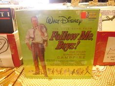 Walt Disney Follow Me Boys vinyl LP 1966 Sealed Disneyland Records