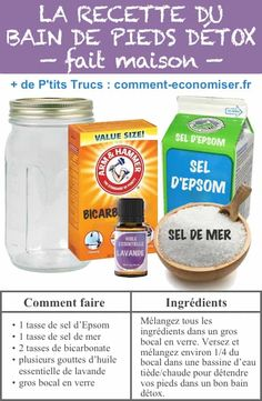 20 Commercial Products You Can Easily Make at Home. - Here is how to make a homemade foot bath, to rest and relieve the feet. Diy Pedicure, Foot Soak, Handmade Cosmetics, Foot Cream, Health Logo, Practical Gifts, Feet Care, Diy Scrapbook, Diy Beauty