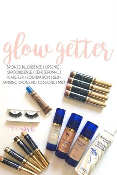 Want the bronzed look without the harmful sun rays? SeneGence has you covered Senegence Makeup, Senegence Products, Shadow Sense, Ardell Lashes, Evening Makeup, Kissable Lips, Glow Kit, Bronze, Beauty Bar