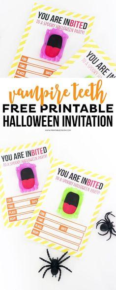 Free Printable Vampi