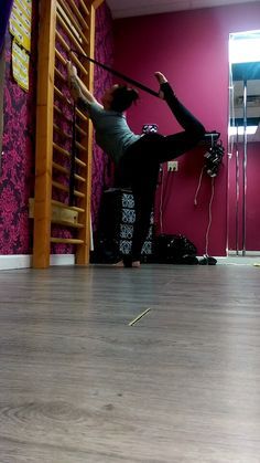 Dancer / needle pose training