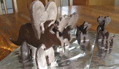 Triceratops Cookies