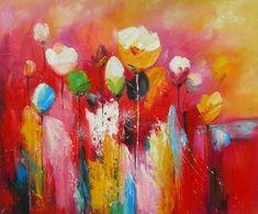 schilderijen bloemen - Google zoeken