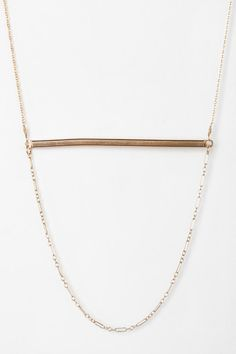 Gabriela Artigas Gold Ingot Necklace