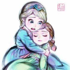 Disney Anime Style, Disney Fan Art, Disney Pixar, Disney Characters, Disney Princess Frozen, Disney Princess Drawings, Disney Movie Collection, Frozen Musical, Frozen Art