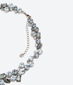 ZARA - WOMAN - RHINESTONE NECKLACE