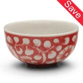 Bowls & Dishes | Fair Trade Kitchenware Vine Blossom Rice Bowl $5.00  To place an order for this beautiful kitchen item, click on the link below www.oxfamshop.org.au  #oxfam #oxfamshop #fairtrade #shopping #kitchen #kitchenware