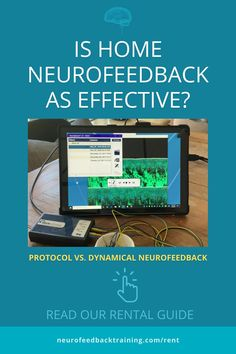 The first generation, known as Protocol neurofeedback, can only be used in-office while the latest generation of neurofeedback, called Dynamical neurofeedback, changed the design as the hardware technology improved and can be used for home use. But what makes neurofeedback therapy device truly a neurofeedback system? Read our home rental guide to learn what to look for. Neurofeedback Therapy, Neuroplasticity, Clinical Psychologist, Brain Waves, Brain Training, Brain Activities, Self Assessment, Latest Generation, Computer Technology