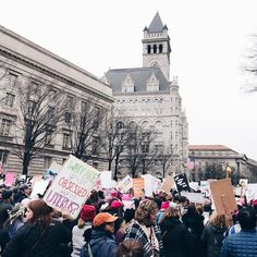We took over Pennsylvania Avenue with our signs and our chants        #whyimarch #marchonwashington #womensmarch #womensmarchonwashington #thefutureisfemale #deleteyouraccount #deleteyourpresidency #imwithher #imstillwithher #acreativedc #bythings #protestsigns #protest #resistance #huffpostgram #dslooking #draintheswamp #pussyhatproject #dcblogger #WMWArt #nastywoman