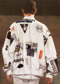 LOVE// Vintage Raf Simons, Paris 2002