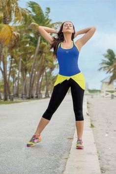 Garotas - Camiseta Ref 4645 - Pareo Ref 4667 - Capri Ref 4668 #Moda #Fitness #sport #Deporte #Fashion
