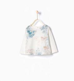 ZARA - ENFANTS - T-shirt à détail papillons