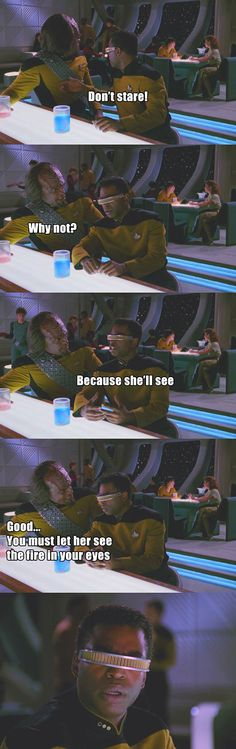 Worf Is Kind Of A Jerk
