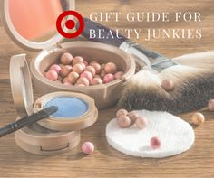 Target gift guide for beauty junkie. #beauty #giftguide