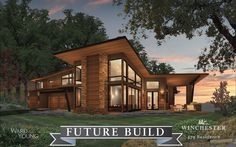 Beautiful contemporary plans in Winchester Country Club
