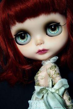 G.Baby OOAK custom Blythe doll inspired by FATM
